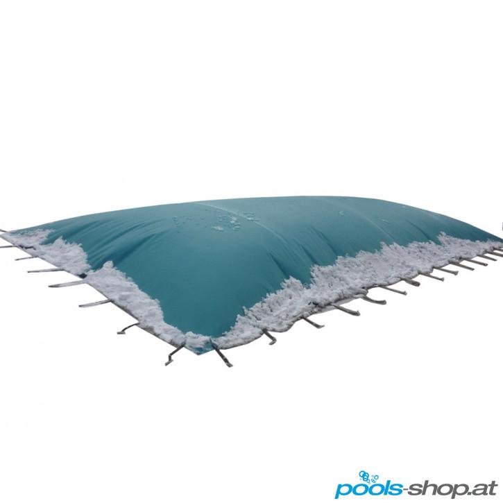 Aufblasbare Winterhaube Gletscherweiß per m²