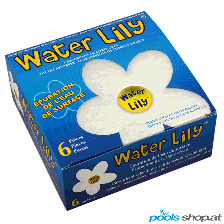 Öl- und Fettpad Water Lily von Walter Piscine