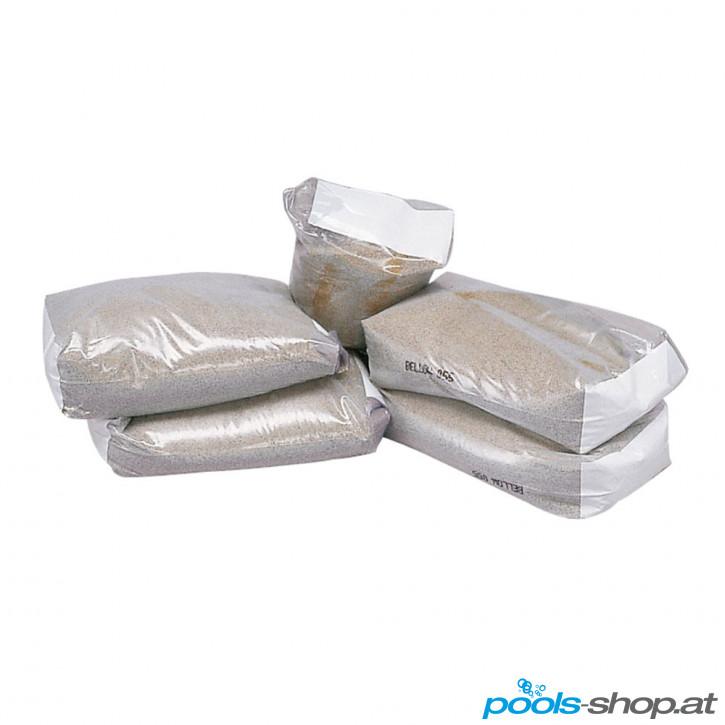 Filtersand Mittel 0.7 - 1.25 mm 25 kg