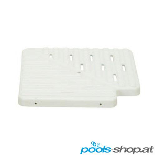 Überlaufrinnen Eckteil 90° Weiß