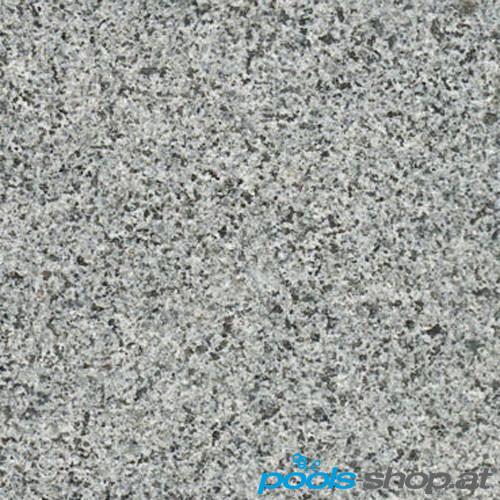 Schwimmbadumrandung aus Granit Africa Grey 7,5x4m