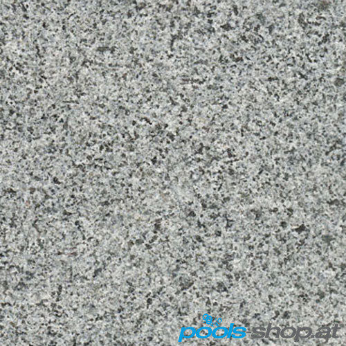 Schwimmbadumrandung aus Granit Africa Grey 9x4m