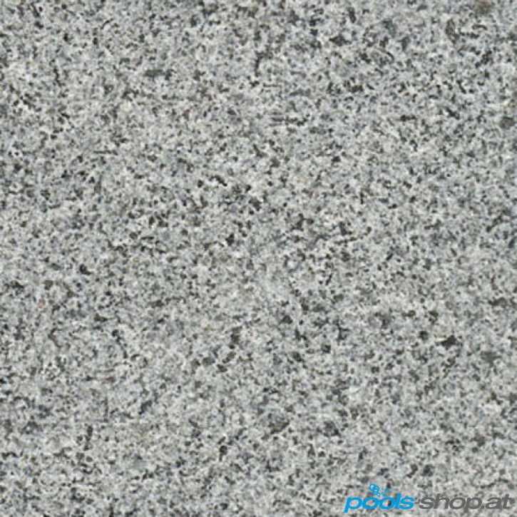 Schwimmbadumrandung aus Granit Africa Grey 9x5m