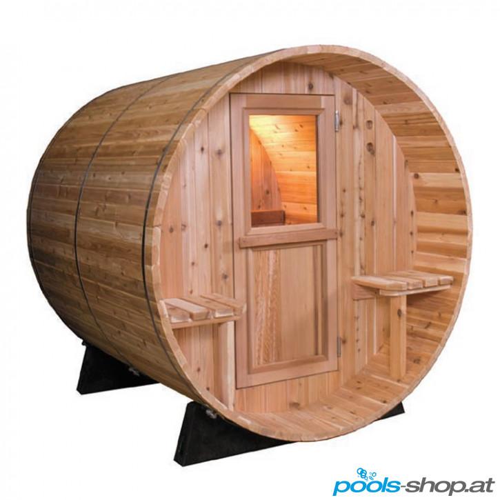 Sauna Barrel Canopy 7 + 1 ft