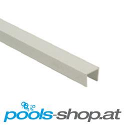 Überlaufrinnen Folienanschweißleiste PVC U