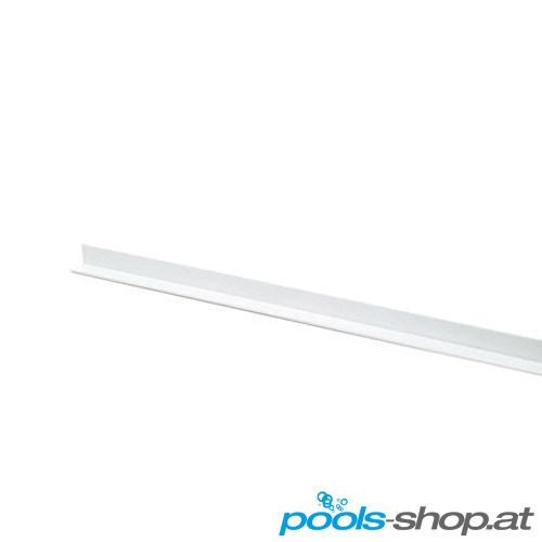 Überlaufrinnen Abschlussleiste PVC L