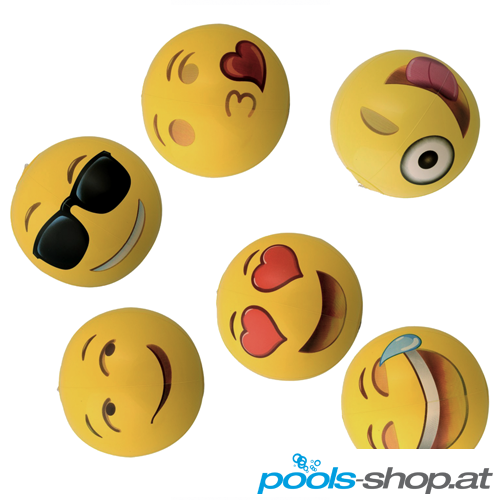 "Emoji Wasserball ""Happy Face"""