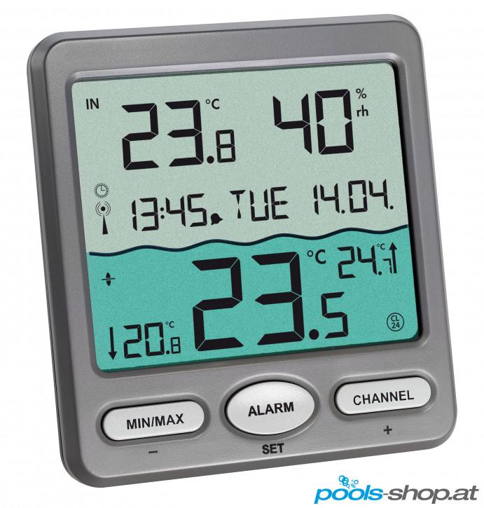 Funk-Thermometer (Poolthermometer) Trio von TFA