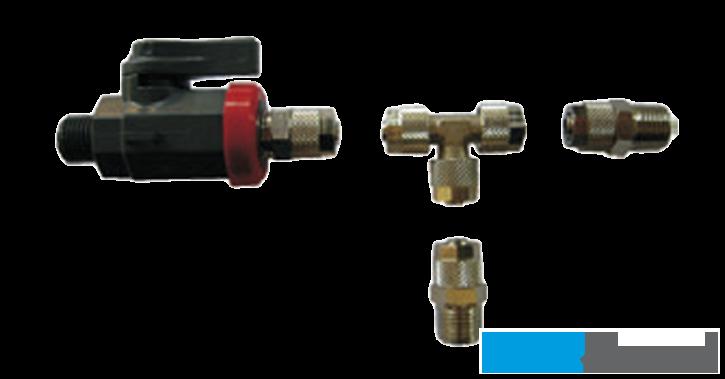 Anschluss-Set zu Kompressor - 1 Ventil