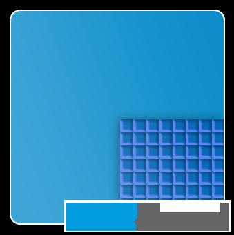 Sommer Schaum - ISO 6, Copolymer, Blau