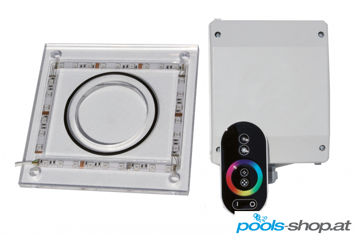 Lichtsatz für Schwalldusche Plexischwanenhals