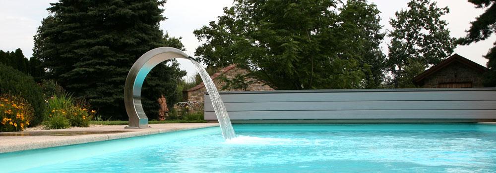 Schwimmbad Einlaufdüse