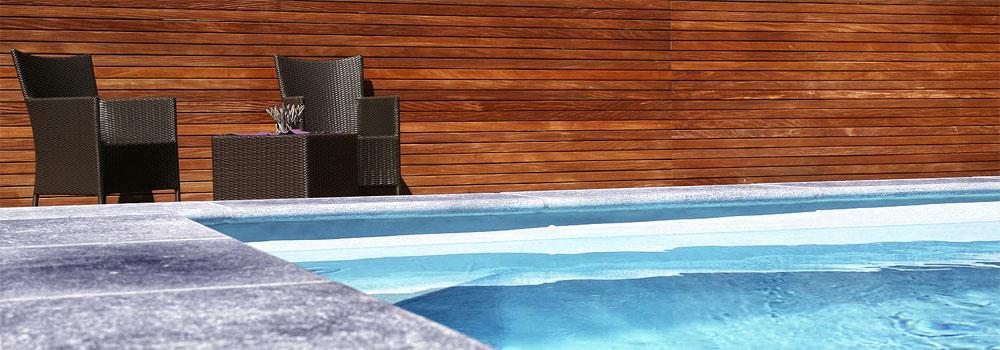 Schwimmbad Sichtschutz